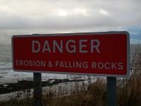 Danger Falling Rocks