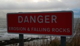 Danger Falling Rocks
