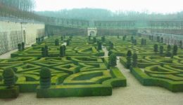 Maze Gardens from Loire Valley, France