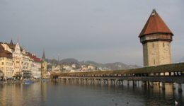 Lucern, Wooden Bridge