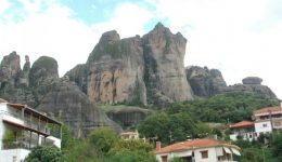 Meteora From Below