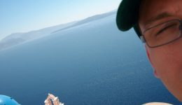 Santorini Self Portrait