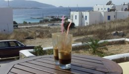 Latte in Greece