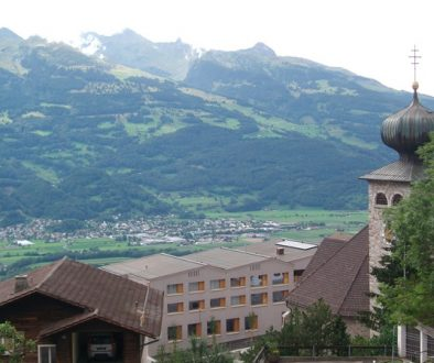 Liechtenstein Vally - Triesenberg Church