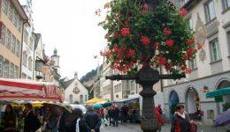 Feldkirch Market and Fountain