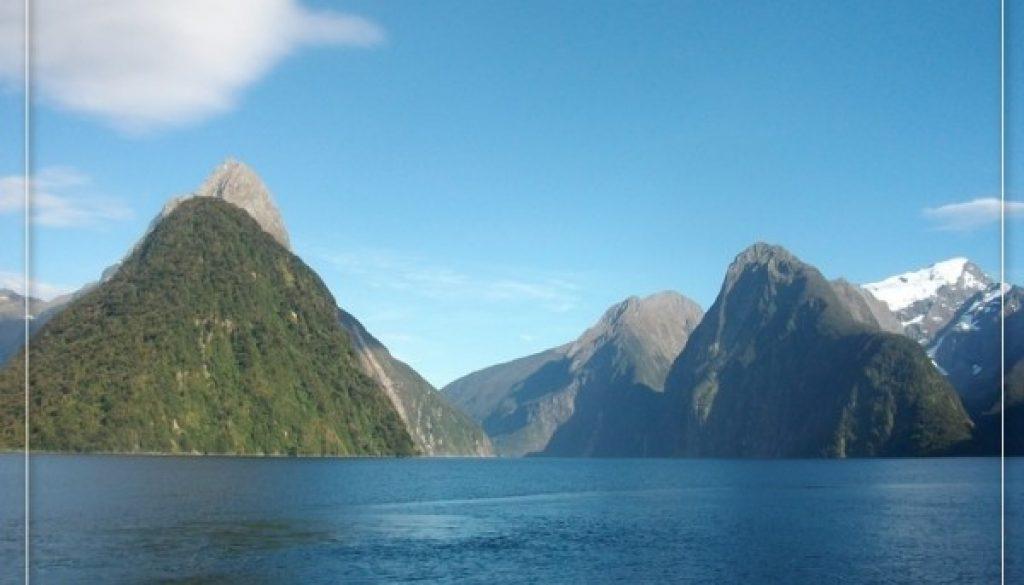 Milford Sound Postcard