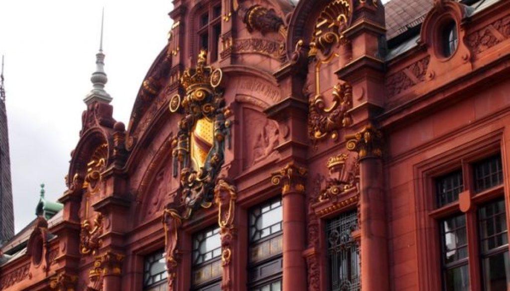 Art Nouveau Detail - Heidelberg LIbrary
