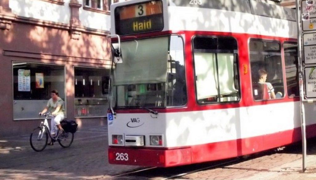 Tram, Freiburg Germany