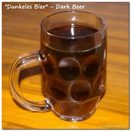 Dark Beer - Dunkeles Bier
