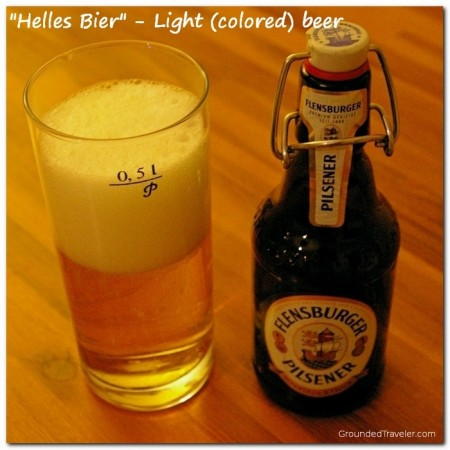 Helles Bier - Light (colored) beer, a Pilsner