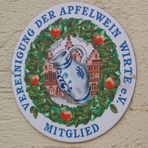 Sign of the Apfelweinverein