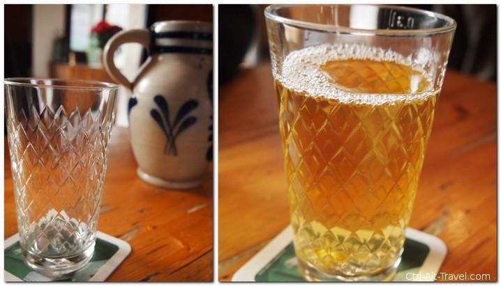 Applewine Bembel and Glass