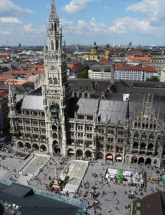 Munich From Above Climbing The Peters Tower Grounded